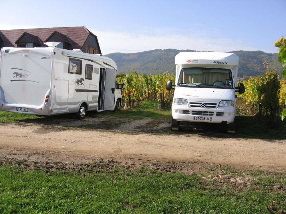 Aire camping-car à Riquewihr (68340) - Photo 1